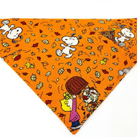 Snoopy Dog Bandana Over the Collar dog bandana Dog collar bandana Fall Halloween - Furrypetbeds