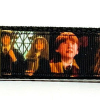 "Harry Potter Key Fob Wristlet Keychain 1""wide Zipper pull Camera strap handmade - Furrypetbeds"