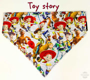 Toy Story Dog Bandana, Over the Collar dog bandana, Dog collar bandana, puppy - Furrypetbeds