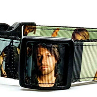 "Keith Urban dog collar Handmade adjustable buckle 1"" wide or leash Country music - Furrypetbeds"