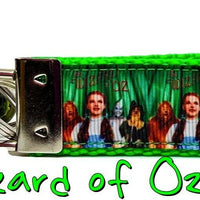 "Wizard of Oz Key Fob Wristlet Keychain 1""wide unique key fob great gift handmade - Furrypetbeds"