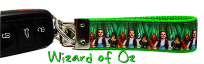 Wizard of Oz Key Fob Wristlet Keychain 1
