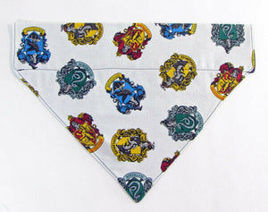 Harry Potter Dog Bandana Over the Collar dog bandana Dog collar bandana puppy - Furrypetbeds
