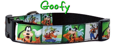 Goofy dog collar handmade adjustable buckle collar 1