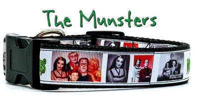 The Munsters dog collar handmade adjustable buckle 1