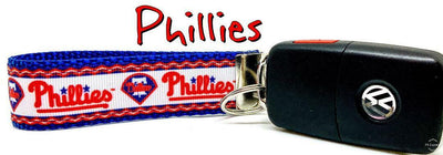 Phillies Key Fob Wristlet Keychain 1