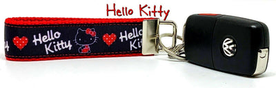 Hello Kitty Key Fob Wristlet Keychain 1