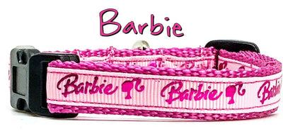 Barbie cat or small dog collar 1/2