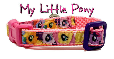 My Little Pony cat & small dog collar 1/2