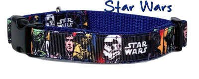 Star Wars dog collar handmade adjustable buckle collar 5/8