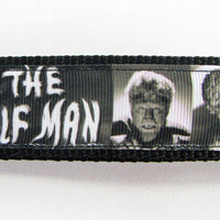 "Wolfman dog collar handmade $12.00 adjustable buckle collar 1"" wide or leash - Furrypetbeds"