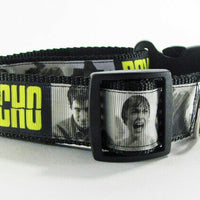 "Psycho dog collar 12.00 all sizes adjustable buckle collar 1"" wide or leash $12 - Furrypetbeds"