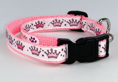Princess cat & small dog collar 1/2