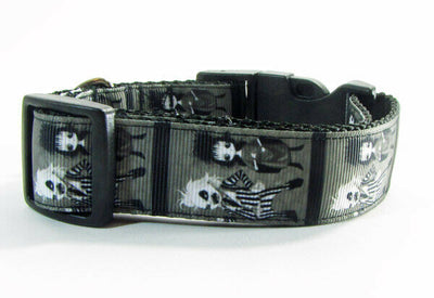 Beetlejuice dog collar handmade $12.00 adjustable buckle collar 1