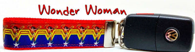 Wonder Woman Key Fob Wristlet Keychain 1
