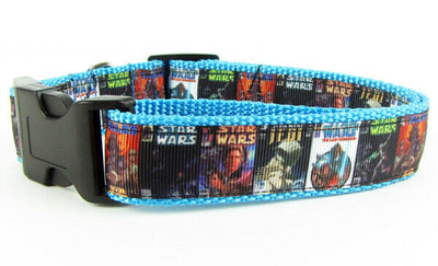 Star Wars, dog collar, handmade, adjustable buckle collar, 1