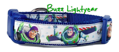 Toy Story Buzz Lightyear dog collar handmade adjustable buckle collar 1