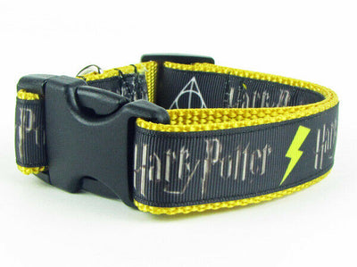 Harry Potter dog collar handmade adjustable buckle collar 1