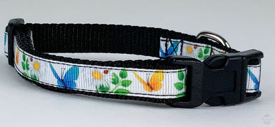 Butterflies cat or small dog collar 1/2
