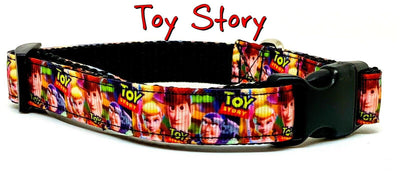 Toy Story dog collar handmade adjustable buckle collar 5/8