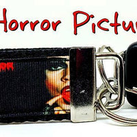 "Rockey Horror Picture Show Key Fob Wristlet Keychain 1 1/4""wide Zipper pull - Furrypetbeds"