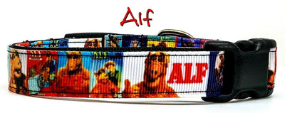 Alf Dog collar handmade adjustable buckle 5/8