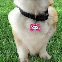 Pet ID Tag Hello Kitty Personalized Custom Double Sided Pet Tag name & number - Furrypetbeds