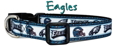 Eagles dog collar handmade adjustable buckle collar 5/8