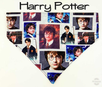 Harry Potter Dog Bandana Over the Collar dog bandana Dog collar bandana or puppy - Furrypetbeds