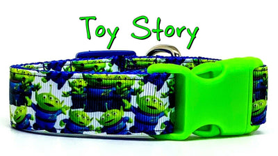 Toy Story Aliens dog collar handmade adjustable buckle 1