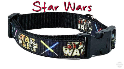 Star Wars dog collar handmade adjustable buckle collar 1