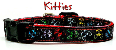 Kitties cat or small dog collar 1/2
