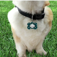 Pet ID Tag Phila Eagles NFL Personalized Custom Double Sided Pet Tag w/name - Furrypetbeds