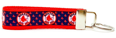 Boston Red Sox Key Fob Wristlet Keychain 1