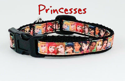 Princesses cat & small dog collar 1/2
