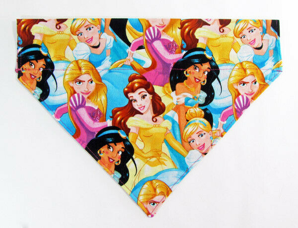 Princesses Disney Dog Bandana Over the Collar bandana  Dog collar bandana puppy - Furrypetbeds