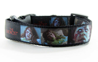 Exorcist dog collar handmade adjustable buckle collar 1