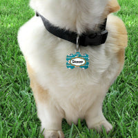 Pet ID Tag Miami Dolphins NFL Personalized Custom Double Sided Pet Tag w/name - Furrypetbeds