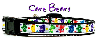 Care Bears cat or small dog collar 1/2