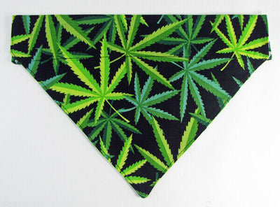 Herbs Dog Bandana, Over the Collar dog bandana, Dog collar bandana, puppy - Furrypetbeds