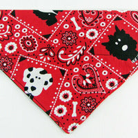 Dog Bandana, Over the Collar dog bandana, Dog collar bandana, puppy, cute dogs - Furrypetbeds