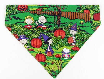 Dog Bandana Over the Collar dog bandana Snoopy Halloween Dog collar bandana - Furrypetbeds