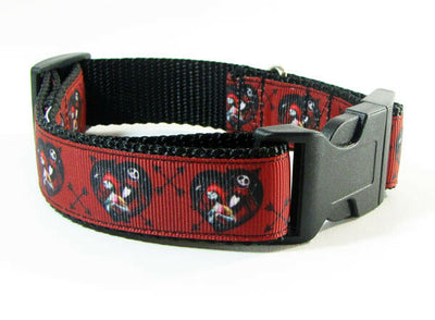Nightmare Before Christmas dog collar handmade adjustable buckle collar 1