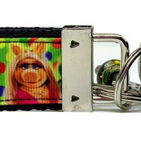 "Muppets Key Fob Wristlet Keychain 1 1/4""wide Zipper pull Camera strap handmade - Furrypetbeds"