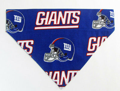 Giants Dog Bandana Over the Collar dog bandana football Dog collar bandana - Furrypetbeds