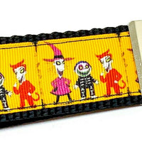 "Nightmare Before Christmas Key Fob Wristlet 1 1/4""wide Zipper pull Camera strap - Furrypetbeds"