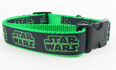 Star Wars dog collar, handmade, adjustable, buckle collar, 1