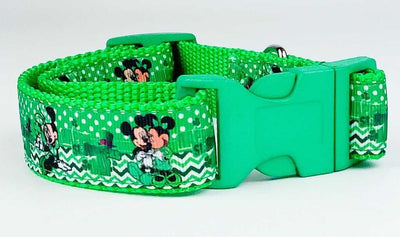 St. Pattys Day Disney dog collar handmade adjustable buckle collar 1