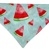 Personalized Dog Bandanas over the collar pet bandana Donuts/Watermelon bandana - Furrypetbeds