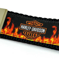 "Harley Davidson Key Fob Wristlet Keychain 11/4""wide Zipper pull Camera strap - Furrypetbeds"